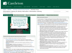 Thumbnail image of Information Literacy Research Guide